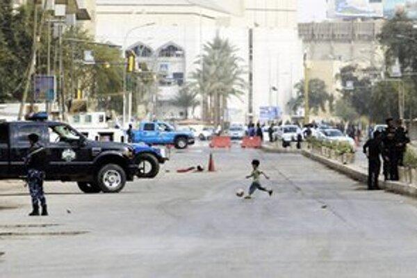 Ulice Bagdadu sú bezpečnejšie.