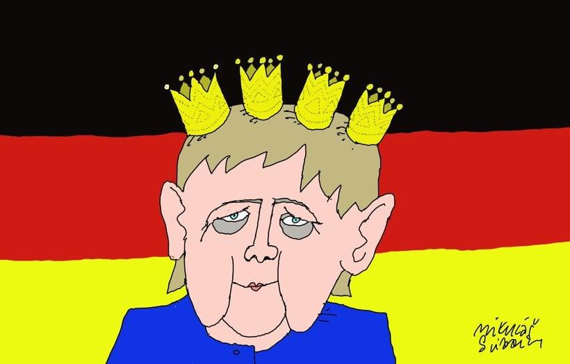 Merkelová víťazná (Sliacky) 25. september