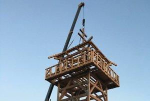 Práce na veži finišujú.