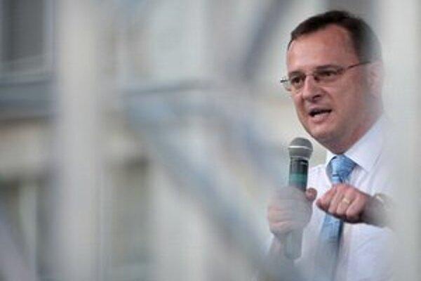 Český premiér Petr Nečas.