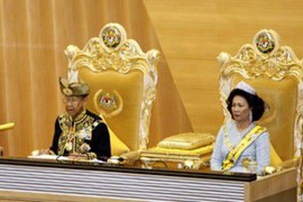 Malajský kráľovský pár.
