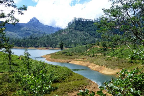 Pôsobivá krajina Srí Lanky.