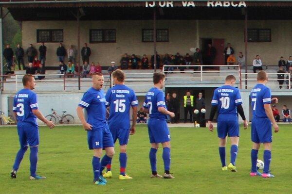 Futbalisti Rabče získali po návrate do VI. ligy prvý bod.