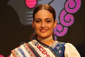 Lucia Malagová, 2. vicemiss folklór.