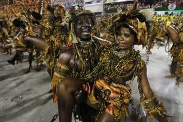 Karneval v Riu vrcholí.
