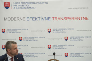 Podpredseda vlády pre investície a informatizáciu Peter Pellegrini.