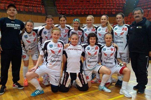 Florbalistky Eastern Wings Michalovce.