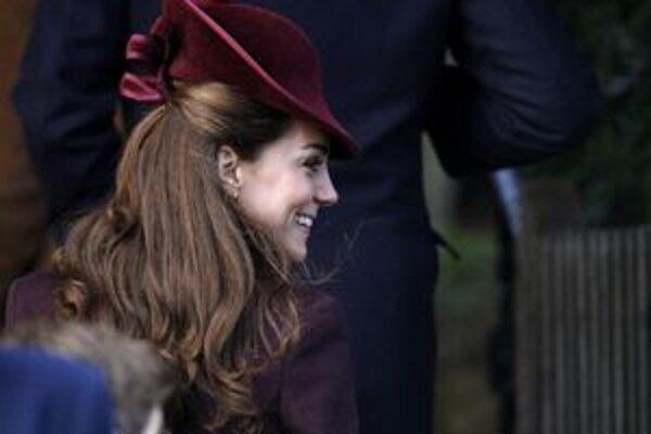 Vojvodkyňa z Cambridge.