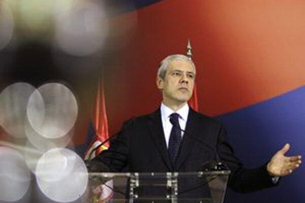 Srbský premiér Boris Tadič.