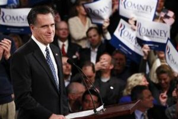 Bývalý guvernér amerického štátu Massachusetts Mitt Romney.