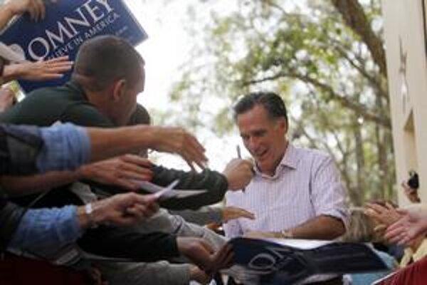 Mitt Romney sa považuje za najväčšieho favorita aj preto, že má najviac peňazí.