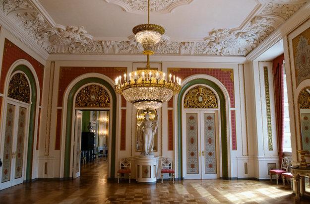 Vnútro paláca