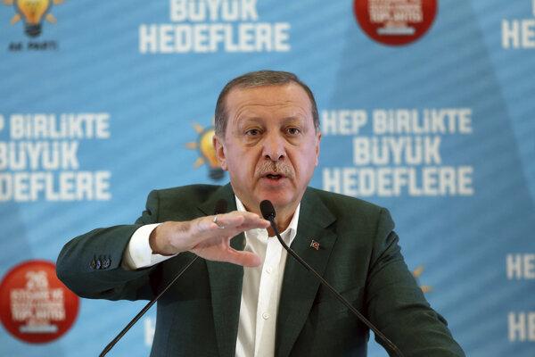 Prezident Recep Tayyip Erdogan.