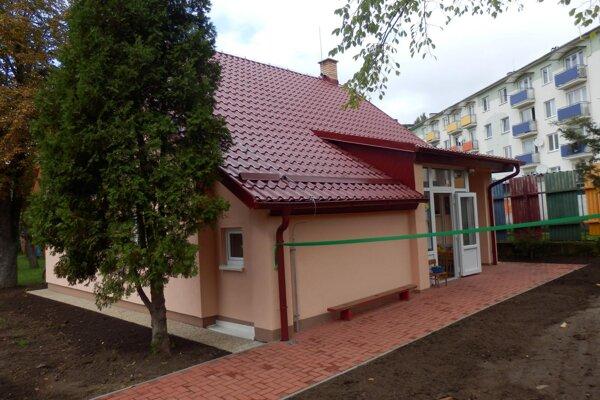 Škôlka na Budovateľskej ulici. Prešla obnovou.