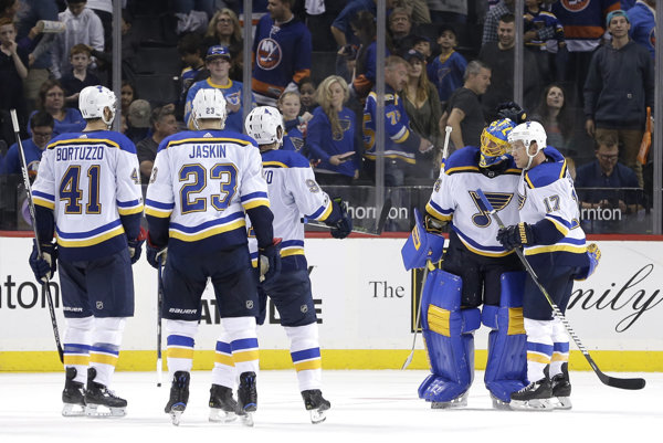 St. Louis porazil Halákov NY Islanders.