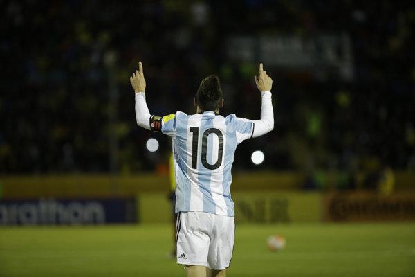Lionel Messi na MS 2018 v Rusku - ilustračná fotografia.