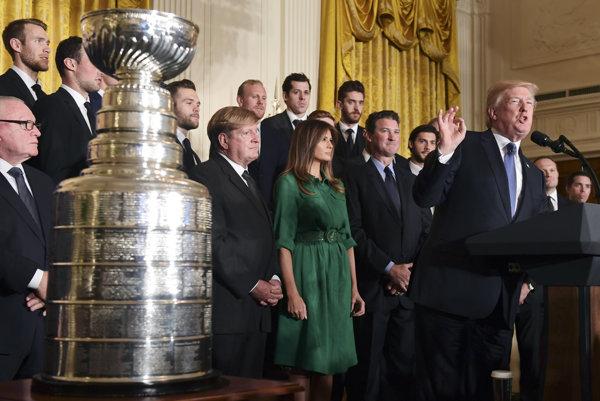 Penguins sa na audiencii zúčastnili druhý rok po sebe.