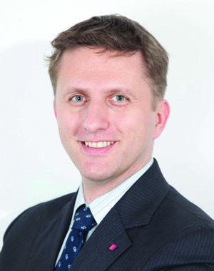 Martin Džbor, riaditeľ pre stratégiu a rozvoj T-Systems Slovakia.
