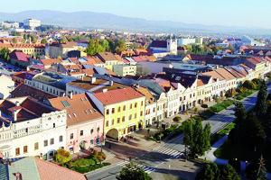 Centrum Prešova dnes.
