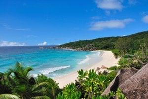 Grand Anse na ostrove Praslin