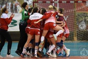 Trenčianske hádzanárky vyhrali prvý ligový zápas v aktuálnej sezóne.