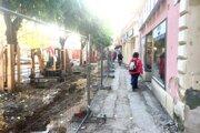Rekonštrukcia Mierového námestia.