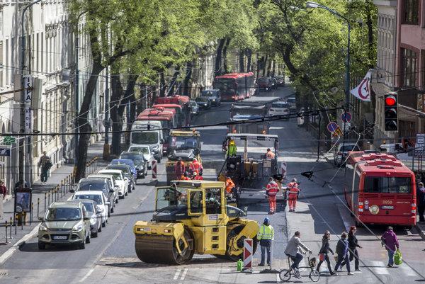 Bratislavčania vobčianskom rozpočte žiadali viac krát výstavbu buspruhov. Napríklad na Štefánikovej.