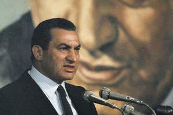 Husní Mubarak v roku 1982.