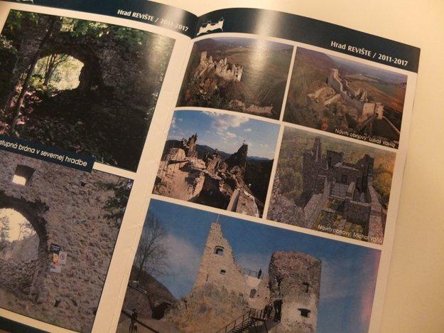 Brožúrka s návrhmi študentov architektúry.