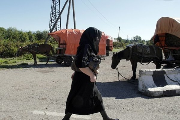 Na improvizovanej gruzínsko-abcházskej hranici
