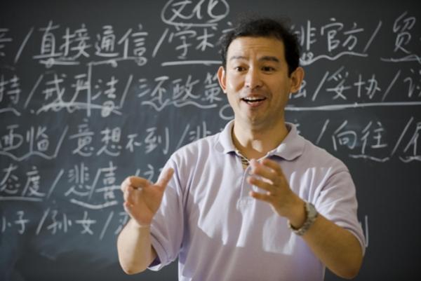 Na gymnáziu sa vyučuje čínsky jazyk.