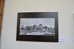 Najstaršie dochované zobrazenie zámku. Z 2. polovice 17. storočia.