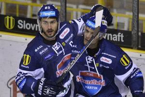 Filip Surovka (vpravo) ešte v drese Martina - ilustračné