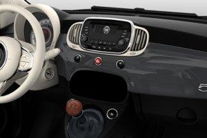 Interiér Fiatu 500 v takmer základnej výbave za 9 990 eur.