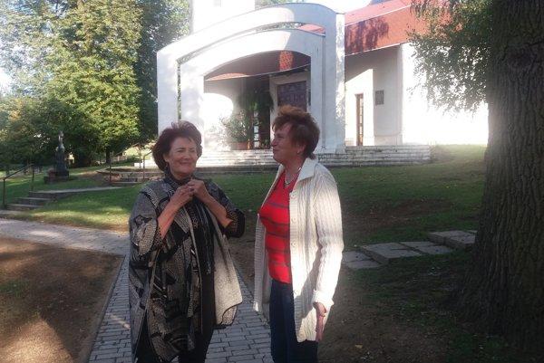 Rozhovory sú dôležité. Marta Čiderová z nich získava materiál do kníh.
