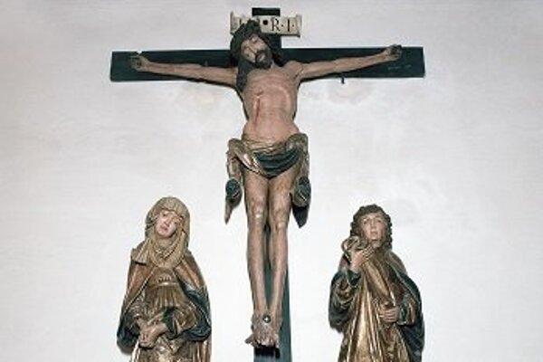 Kalvária od Majstra Pavla z Levoče.