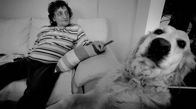 Marián Varga vo filme hovorí, že keby išiel na opustený ostrov, určite by so sebou vzal svojho psa.