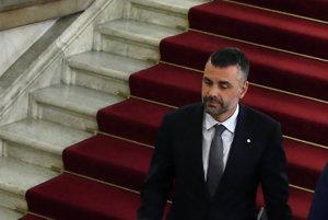 Katalánsky exminister hospodárstva Santi Vila.