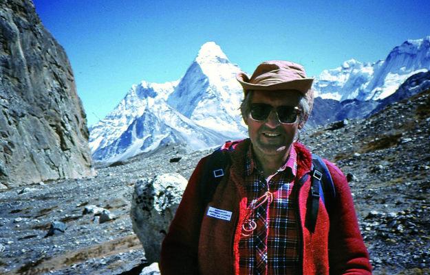 Ivan Gálfy po úspechu na Lhotse Shar.