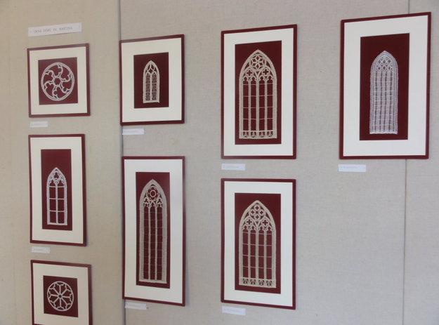 Z čipky sú aj gotické okná z Dómu sv. Martina.