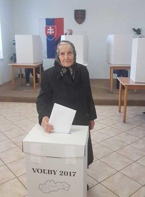 Volička zo Žihárca má 96 rokov.