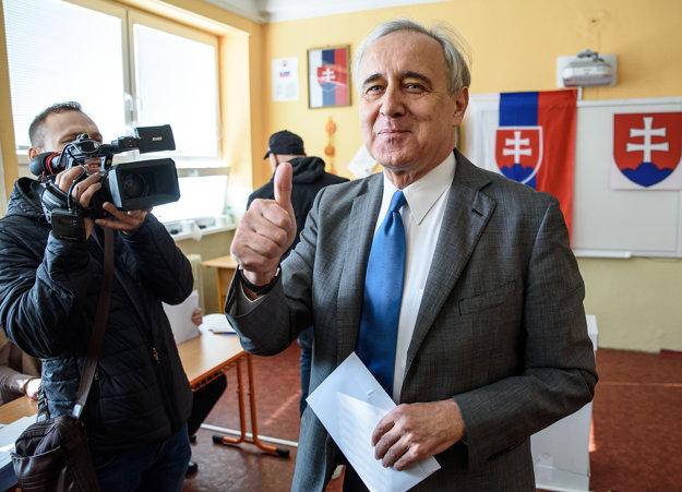 Kandidát na predsedu NSK Ján Greššo.