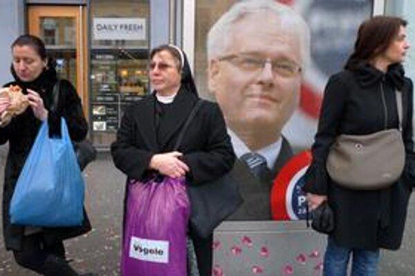 Chorváti si na Josipovičovi najviac cenili jeho zámer bojovať proti korupcii.
