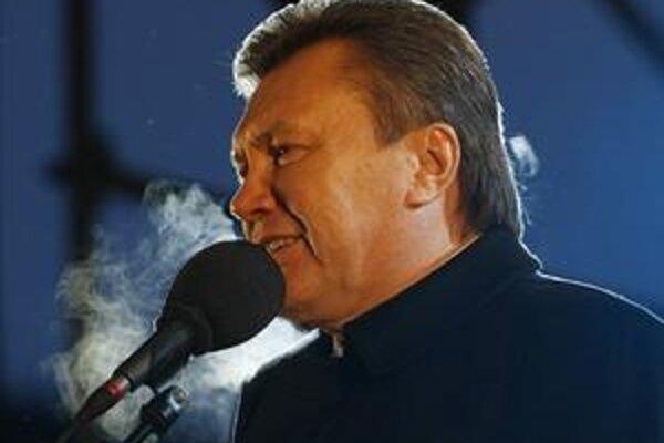 Líder ukrajinskej opozície Viktor Janukovyč.