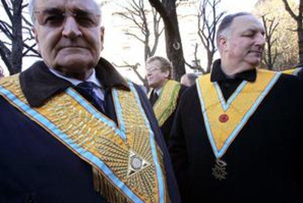 Francúzski slobodomurári na stretnutí v Paríži v roku 2005.