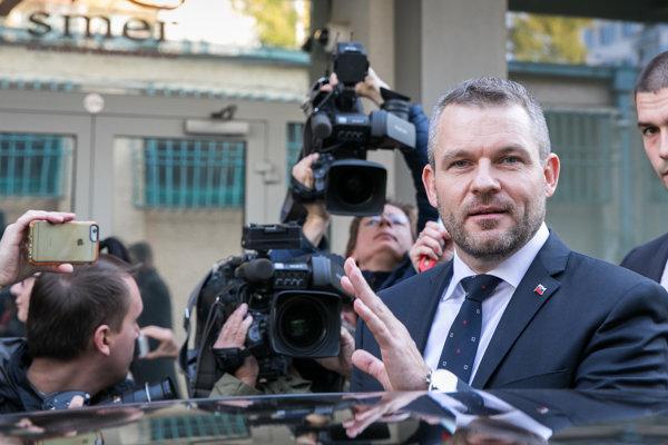 Podpredseda vlády SR pre investície a informatizáciu Peter Pellegrini.