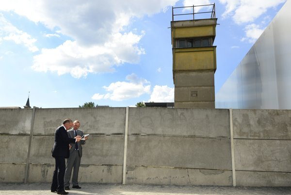 Pamätník Berlínskeho múru.