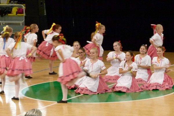 Na 1. ročníku súťaže vystúpili aj detské skupiny.