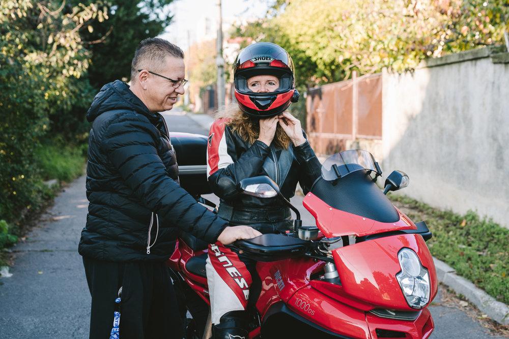 Zuzana sa najviac dokáže uvoľniť na motorke. V práci je však neustále, aj keď je v zahraničí.