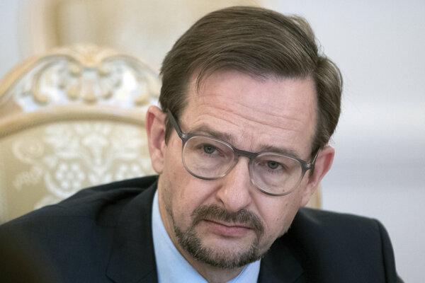 Generálny tajomník OBSE Thomas Greminger.